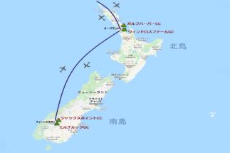 ニュージーランドマップ